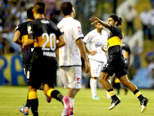 walter erviti boca juniors gol quilmes (Foto: Agência EFE)