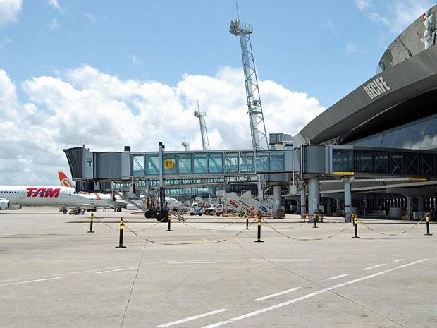 Aeroporto do Recife é o mais bem avaliado do Nordeste, diz pesquisa (Foto: Katherine Coutinho/G1)