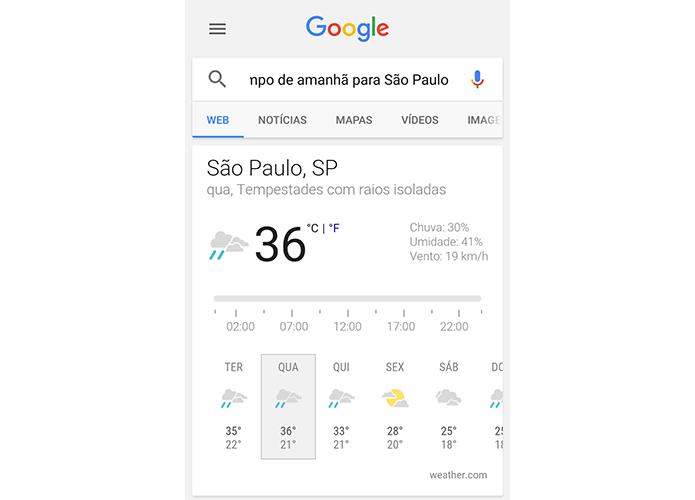 Saiba a previsão do tempo de qualquer cidade (Foto: Reprodução/Paulo Alves)