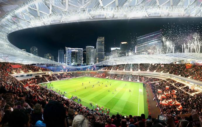 estádio Beckham em Miami MLS (Foto: Reuters)