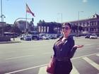 Andressa Urach viaja para Madri e escreve frase enigmática