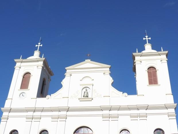 Quatro anos após desabar, matriz de São Luiz reabrirá nesta sexta-feira (16) (Foto: Divulgação/PMSLP)
