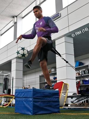 Casemiro recuperação Real Madrid (Foto: Reprodução / Twitter)