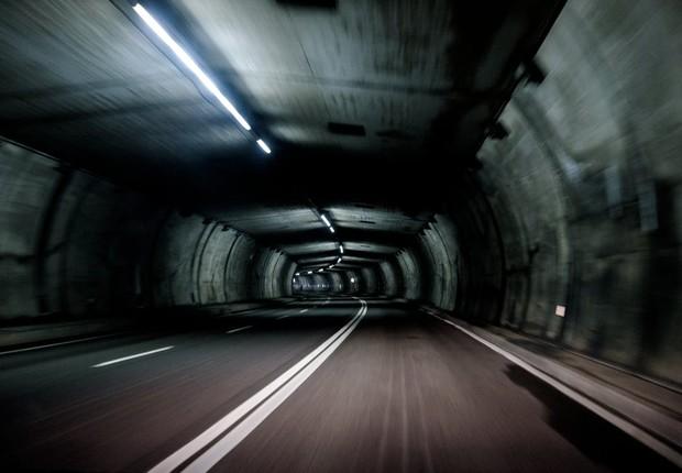 Túnel ; estrada ; transporte ; rodovia ;  (Foto: Pexels)