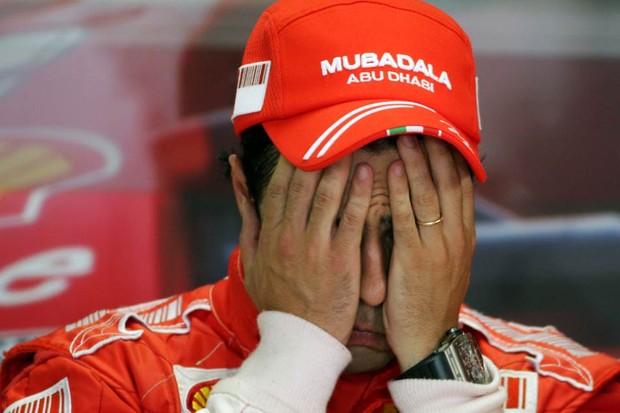 Massa no GP do Brasil de 2008 (Foto: Divulgação)