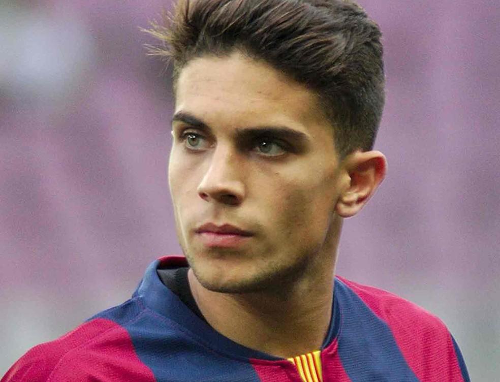 O jogador Marc Bartra em foto de arquivo, quando jogava pelo Barcelona (Foto: Clément Bucco-Lechat/Creative Commons)