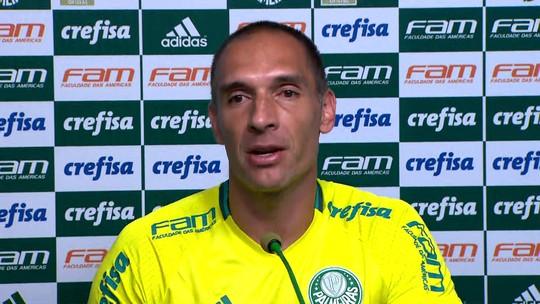 Sem blindar Palmeiras de cobrança, Prass prevê evolução até Libertadores