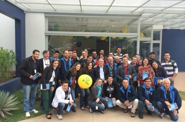 TV TEM escalou um time de profissionais para entrar em campo com o melhor conteúdo da cobertura local para a Copa do Mundo Fifa 2014 (Foto: Gabriela Cardoso/TV TEM)
