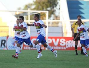 Fortaleza arranca empate com Guaraju no estádio Romeirão (Foto: Normando Sóracles/ Agência Miséria)