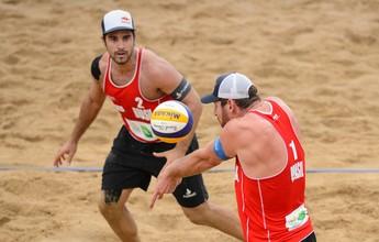Alison e Bruno Schmidt garantem vaga nos Jogos Olímpicos do Rio