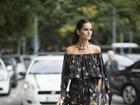 Os melhores looks das modelos nos bastidores do Milan Fashion Week