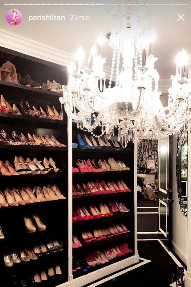 Paris tem uma sala reservada só para sapatos (Foto: Instagram/Reprodução)