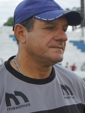 Geraldo Cirino, técnico da Desportiva Guarabira (Foto: Larissa Keren)