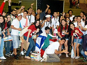 Olimpíada de história (Foto: Felipe Barreto / Unicamp)