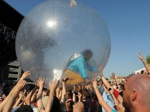 Flaming Lips se apresenta em Memphis, nos Estados Unidos, em junho de 2012 (Foto: Greg Campbell/Getty Images/AFP )