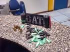 PM apreende granadas, munições e drogas em Rio das Ostras, no RJ