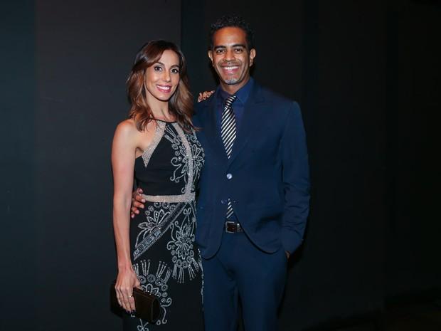 Tania Khalill e Jair Oliveira em evento beneficente em São Paulo (Foto: Manuela Scarpa/ Brazil News)