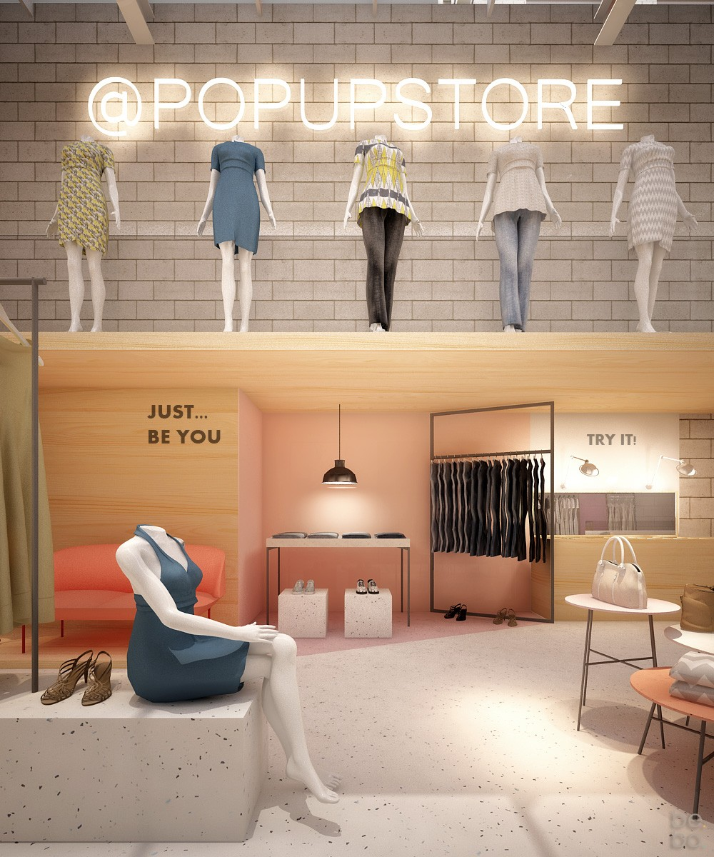 Olha que linda vai ser a nova flagship da Pop Up Store! (Foto: Divulgação)