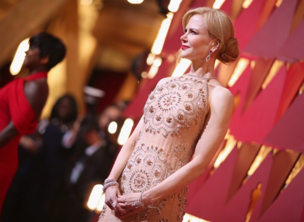 A atriz Nicole Kidman no Oscar 2017 (Foto: Getty Images)