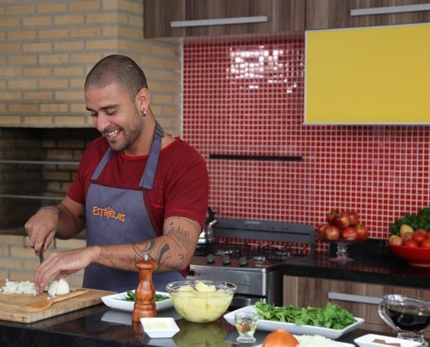 Diogo Nogueira (Foto: Carolina Caminha / TV Globo)