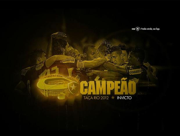 reprodução site botafogo futebol cliube (Foto: Reprodução Site Oficial do Botafogo)