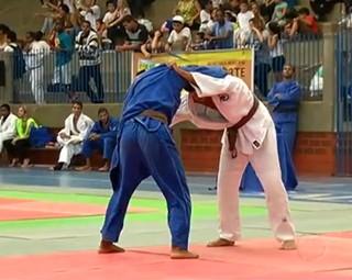 Desafio de Judô envolve praticantes de todas as idades em Resende (Foto: Reprodução Bom Dia Rio)