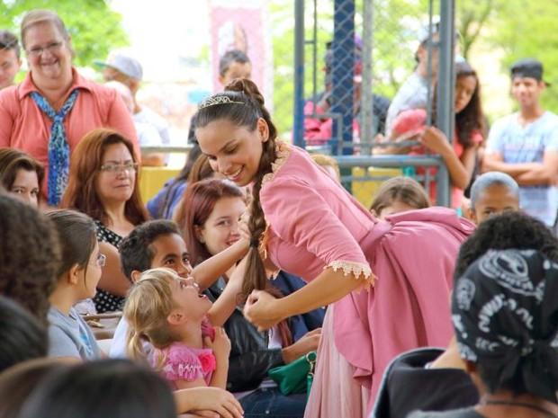 Ópera é apresentada de graça em escolas de Araçariguama (Foto: Divulgação)