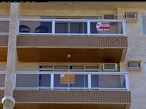 Falso aluguel (Foto: Reprodução / Inter TV)