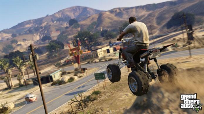 GTA 5 terá resolução 4K no PC (Foto: Divulgação)