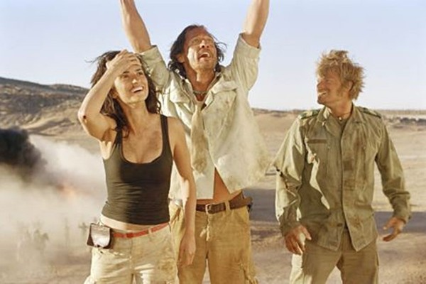 Dirk Pitt, Eva Rojas e Al Giordino em Sahara (Foto: Divulgação)