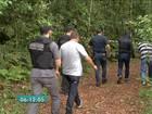 Corpos achados em mata de Mogi das Cruzes chegam ao IML de SP