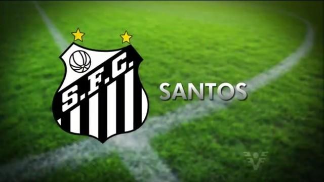 Santos enfrenta o Figueirense pela Copa do Brasil (Foto  Reprodução TV ... feb40759e1a66