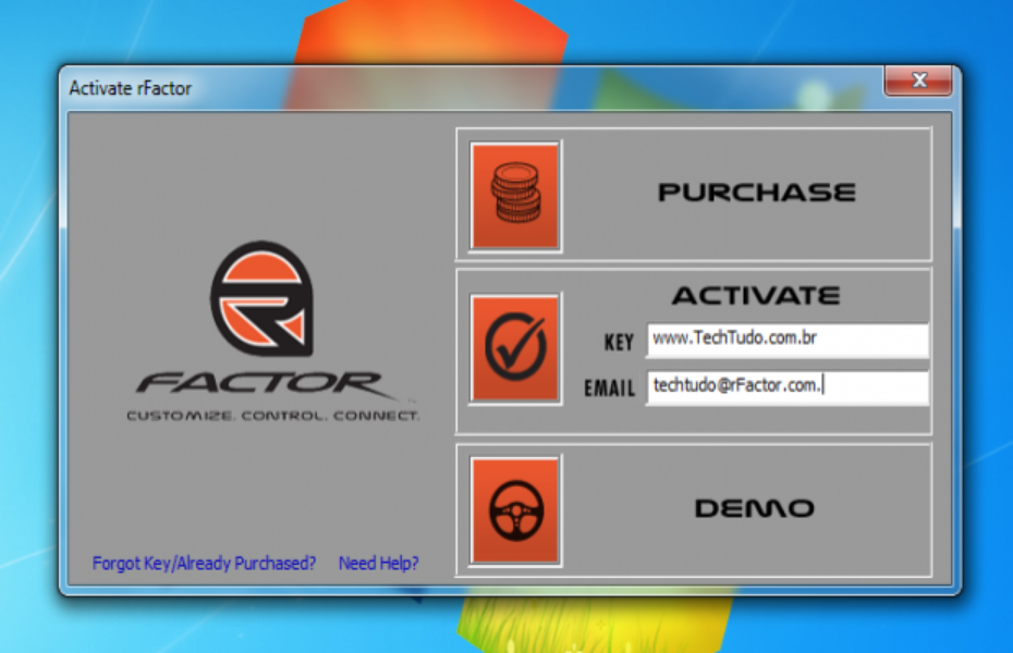 Rfactor 1 jogos download techtudo for R factor windows