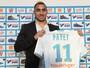 Payet é apresentado no Olympique e diz que não está jogando por dinheiro