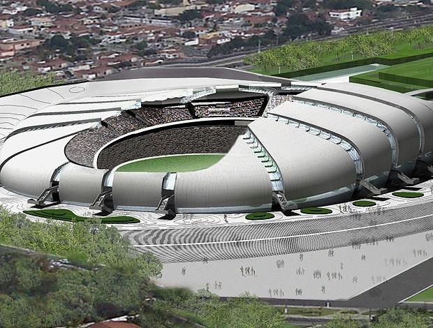 Arena das Dunas Natal copa 2014 (Foto: Divulgação)