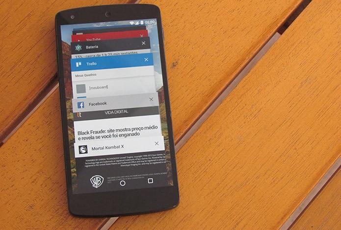 Proteja seu celular de acesso indevido (Foto: Paulo Alves/TechTudo)