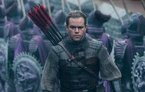 Matt Damon chega aos cinemas para defender 'A Grande Muralha'