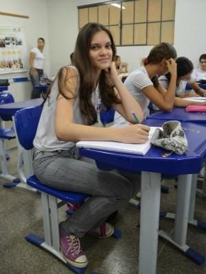 Vanessa Elles Caetano de 17 anos (Foto: Paula Casagrande/G1)