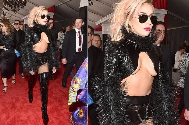 Lady Gaga no Grammy (Foto: Agência Getty Images)