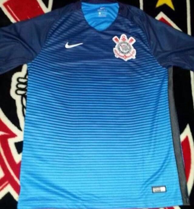 Imagens da nova terceira camisa do Corinthians vazam nas redes ... 622291a6e248f