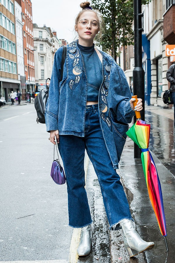Denim on denim (Foto: Imaxtree)