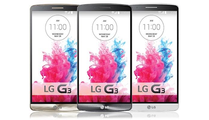 Já se sabe de todas as configurações do LG G3 um dia antes do lançamento mundial (Foto: Divulgação/LG)