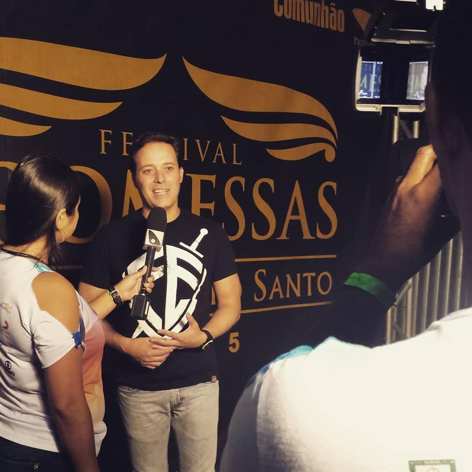 André Valadão esteve entre as principais atrações (Foto: Alana Paganucci)