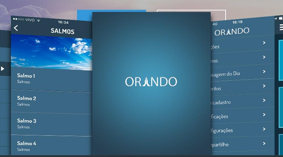 Aplicativo Orando tem mais de 450 orações (Foto: Reprodução)