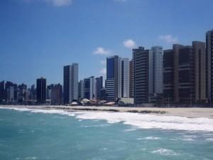 Orla da cidade de Fortaleza (Foto: BBC)