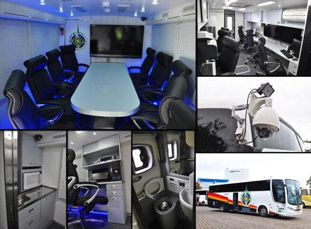 centros de comando e controle móveis, Equipamentos Copa 2014 (Foto: Divulgação / Ministério da Justiça)