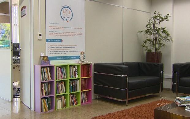 Iniciativa de incentivo à leitura foi destaque  (Foto: Amazonas TV)