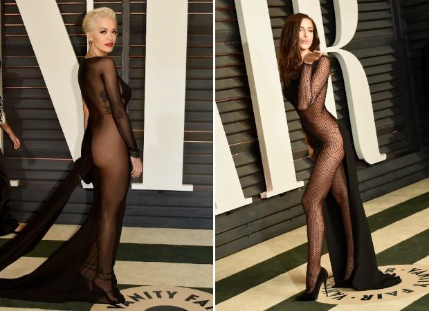 Uau! Transparências e decotes roubam a cena em after party do Oscar