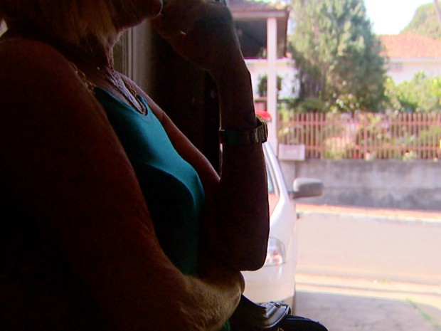 Sogra diz que Viviane foi até a casa dela na noite de sexta-feira (5) (Foto: Carlos Trinca/EPTV)