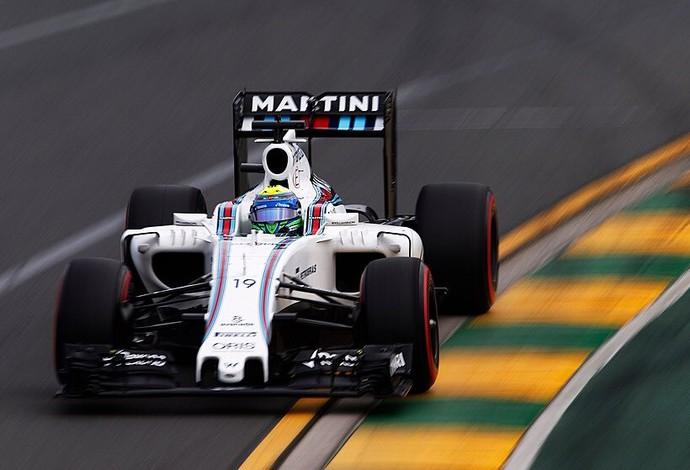Felipe Massa ficou com o sexto lugar no grid de largada do GP da Austrália (Foto: Divulgação)